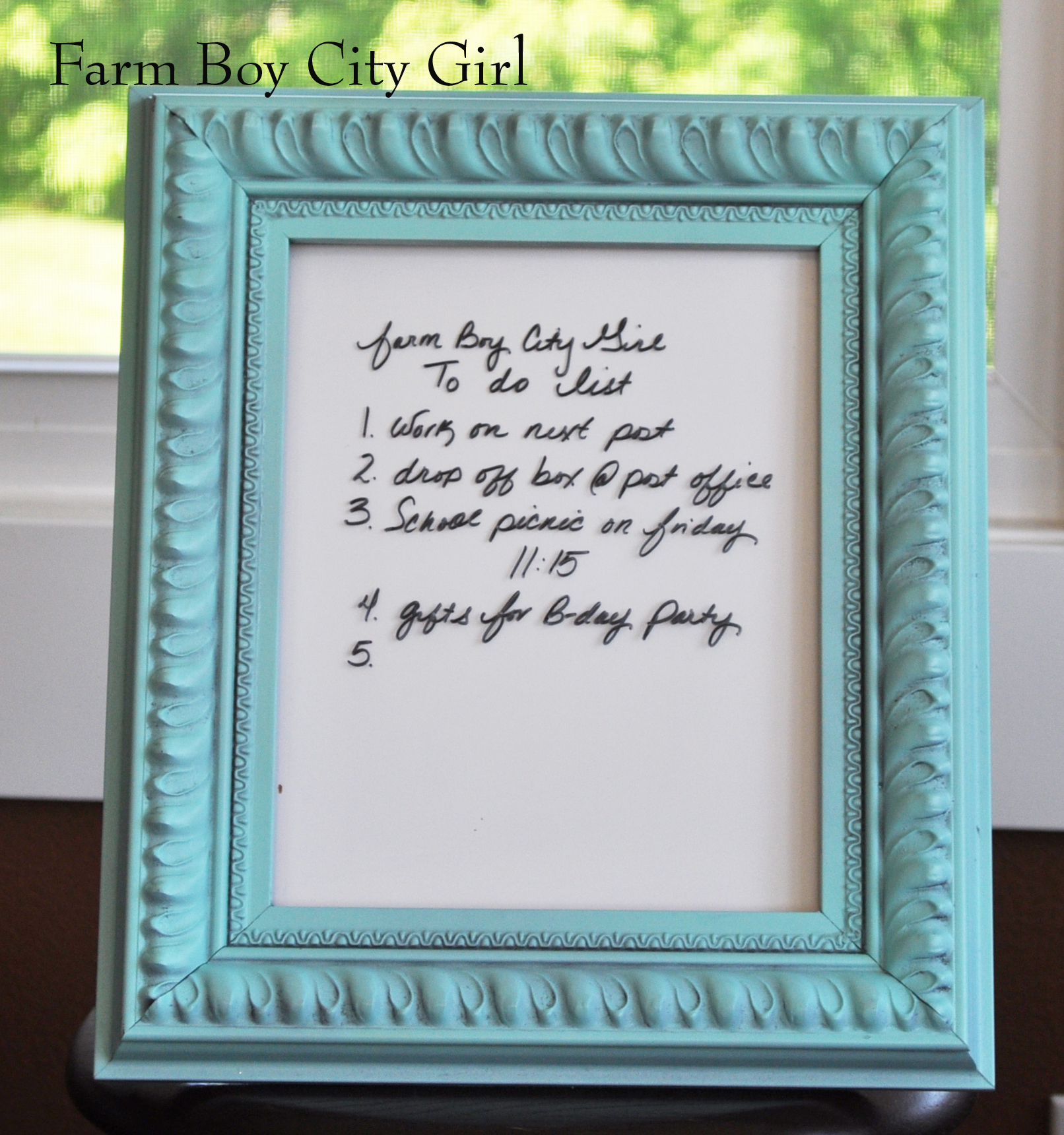 Attractive A Frame White Board Sketch - Picture Frame Ideas ...