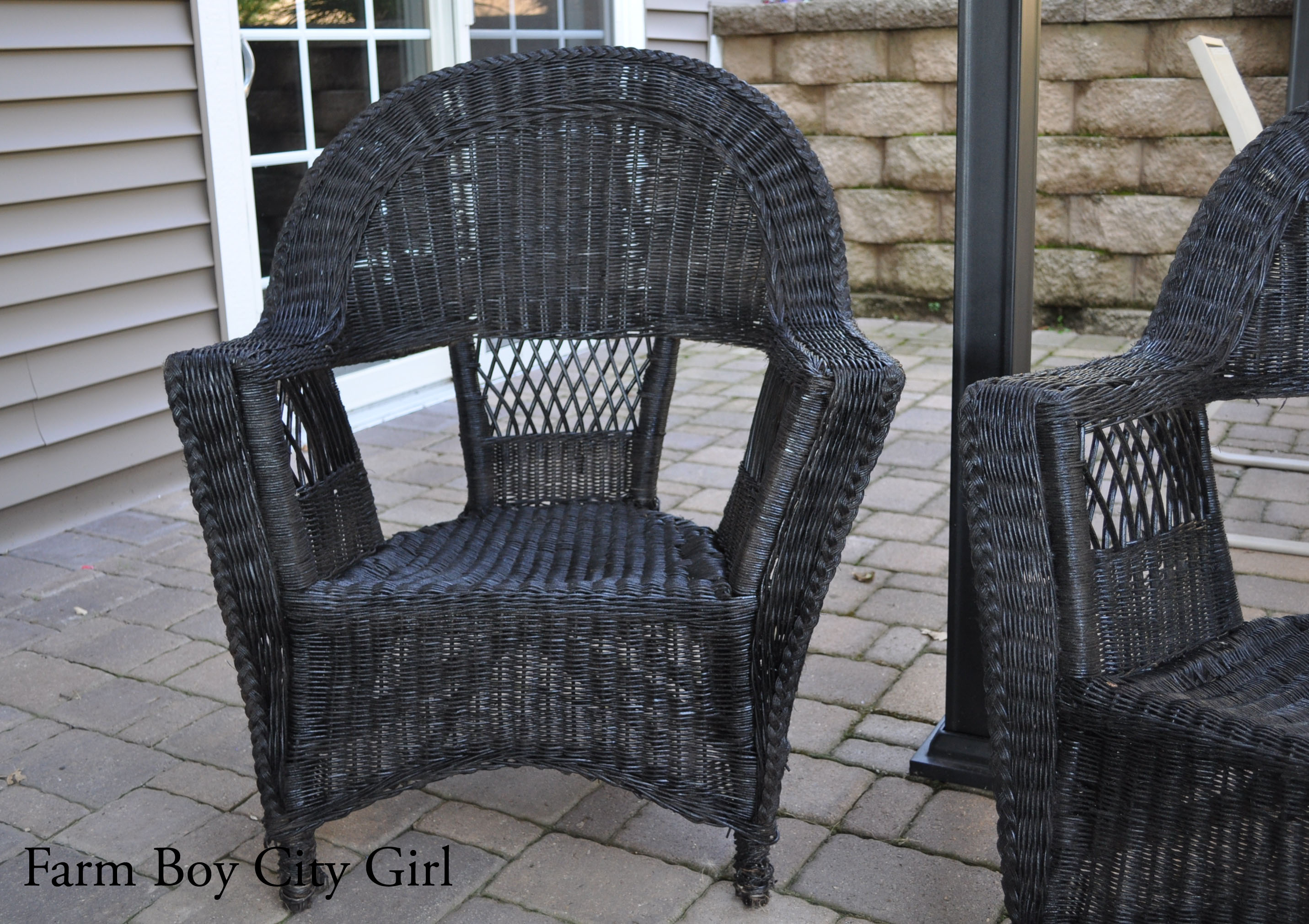 My Old Wicker Chairs
