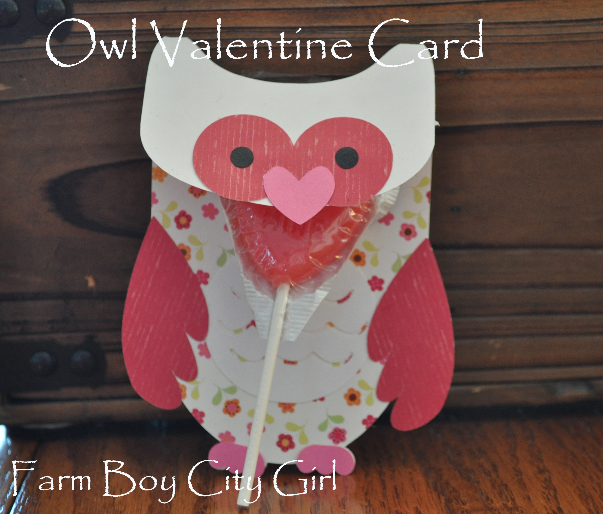 Owl Valentine Card – Valentine Card Boxes for School